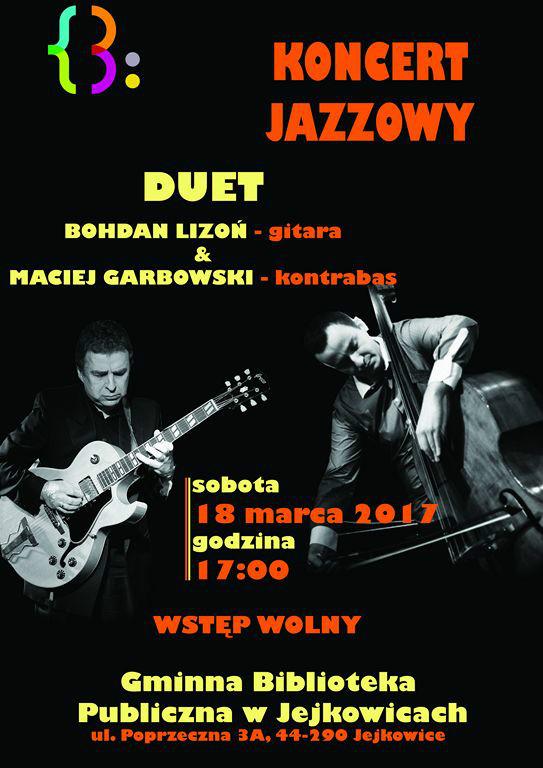 Plakat koncert jazzowy