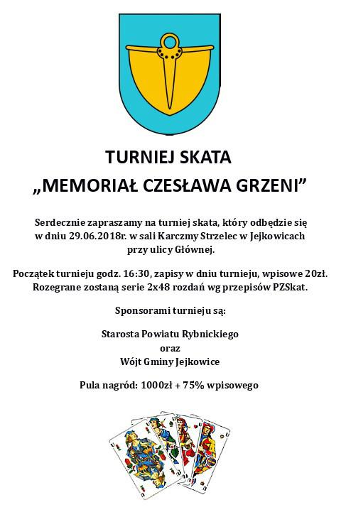 Turniej Skata - Memoriał im. Czesława Grzeni