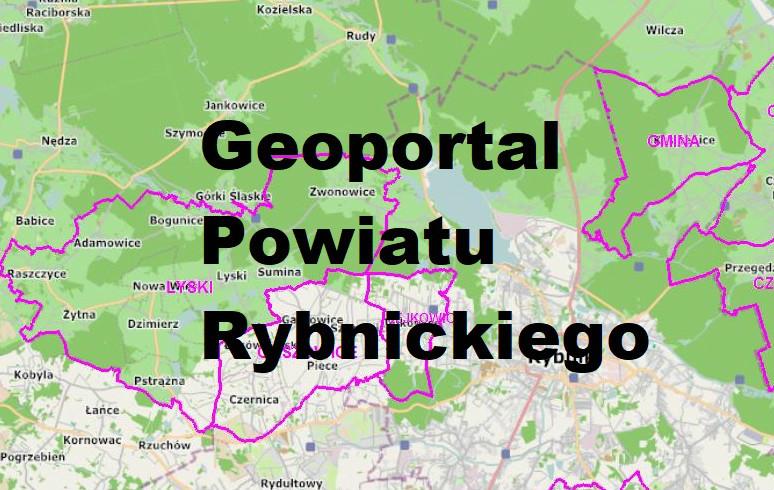 Geoportal Powiatu Rybnickiego