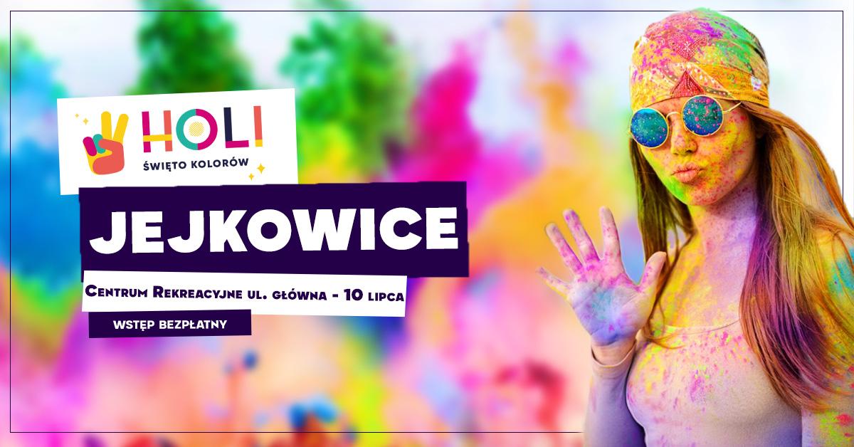 Holi Święto Kolorów w Jejkowicach ★ oficjalna trasa