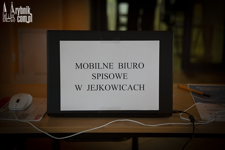 Mobilne Biuro Spisowe w Jejkowicach